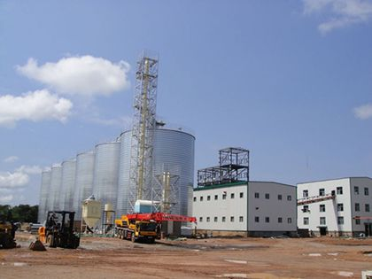 100TPD soybean oil plant in zambia
