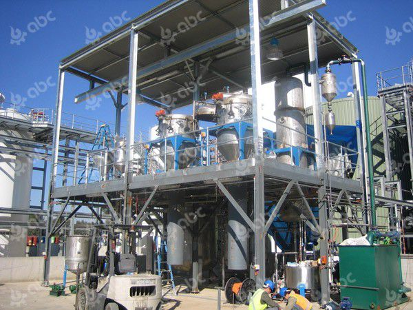 150TPD palm oil refinery line in Australia