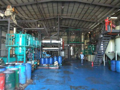20TPD coconut oil mill plant in philippines