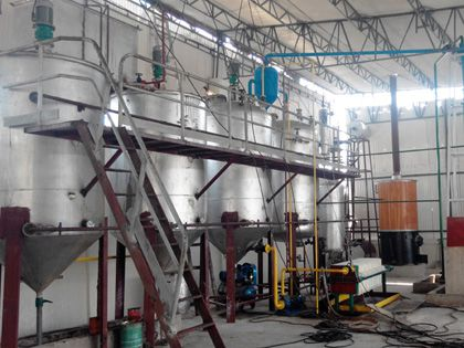 5TPD fish oil refinery in Pakistan