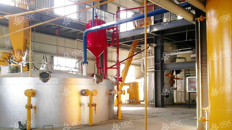 Commercial Oil Extraction Plant for Groundnut Oil