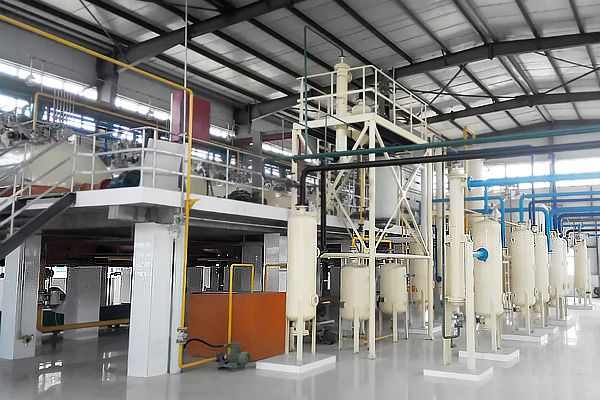 complete solvent oil extraction plant