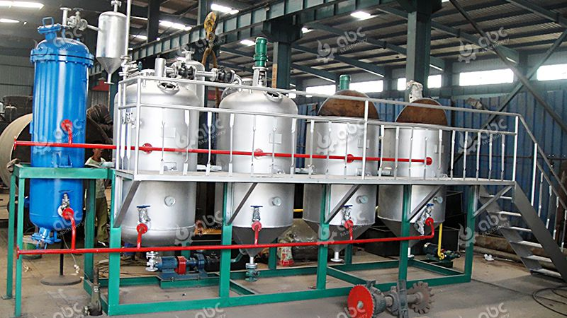 Continuous Type Oil Refinery Plant