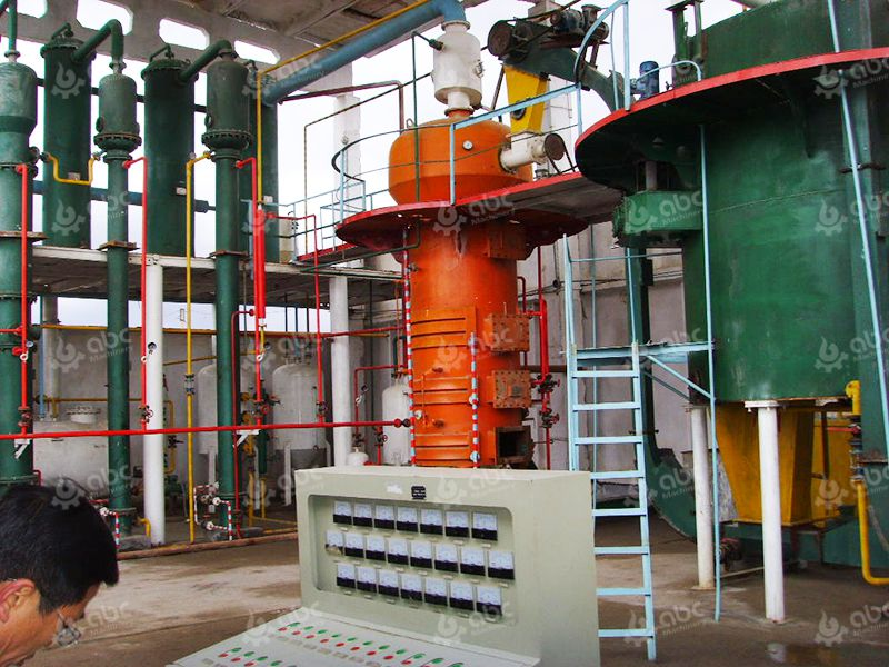 Cotton Oil Extraction Plant