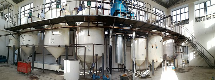 Cottonseed Oil Refining Machine