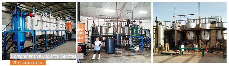 Edible Oil Refining Machine for Peanut Oil