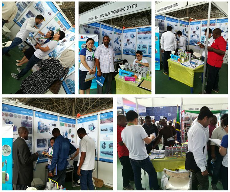 many Tanzanian visitors are interested in our oil mill machinery