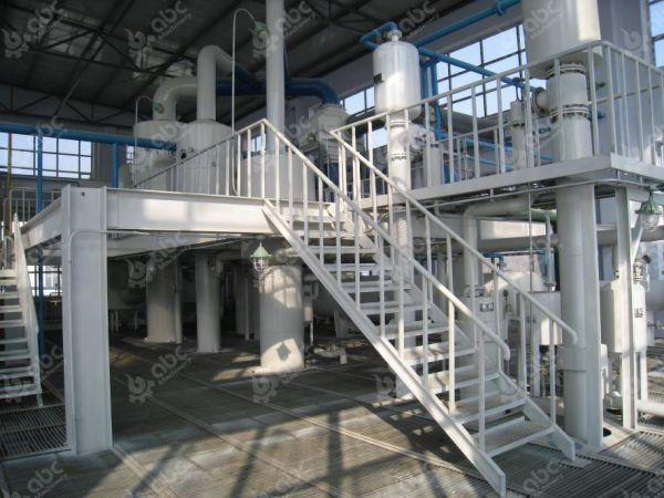 Paraffin Oil Recovering System