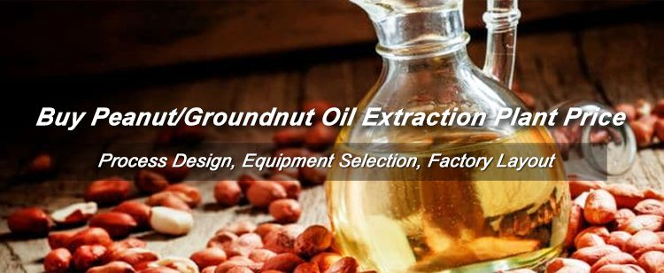 Peanut Groundnut Oil Processing