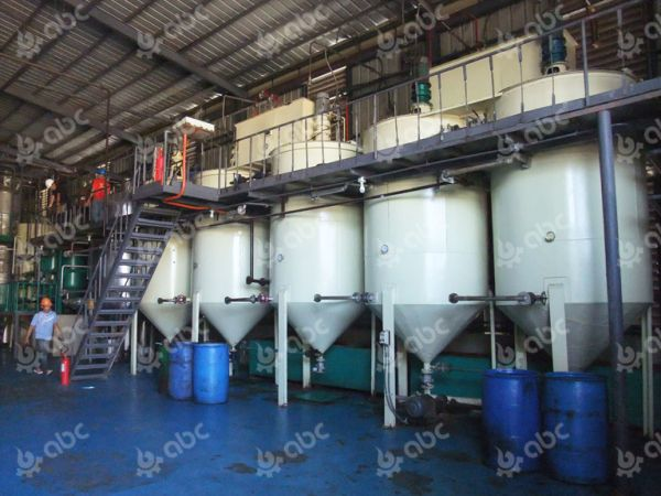 20TPD coconut oil refinery in Philippines