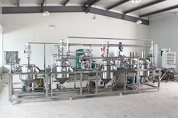 pilot solvent extraction unit