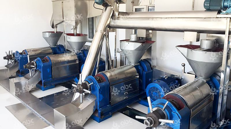 Setup Small Peanut Oil Production Line