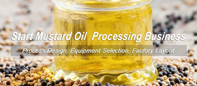 start mustard oil production business at low cost