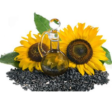 sunflower oil production