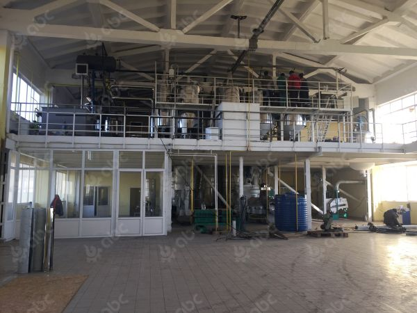 sunflower seed oil press line in moldova